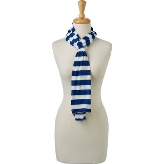 Link to Tickled Pink Jersey Striped Scarf Similar Items in Scarves & Wraps