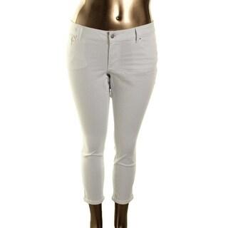 Jessica Simpson Womens Plus Denim Stretch Cropped Jeans - 14W