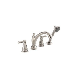 Delta T4793  Linden Roman Tub Filler Faucet Trim with Hand Shower (Less Valve