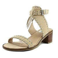 Steve Madden Womens Gila Leather Open Toe Casual Slingback Sandals