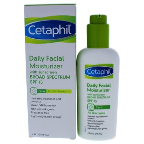 Cetaphil Daily Facial Moisturizer 4 Oz