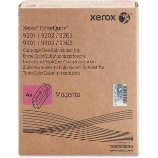 Xerox 108R00830 Xerox ColorQube Magenta Solid Ink, 108R830 - Magenta - Solid Ink - 37000 Page - 4 / Carton