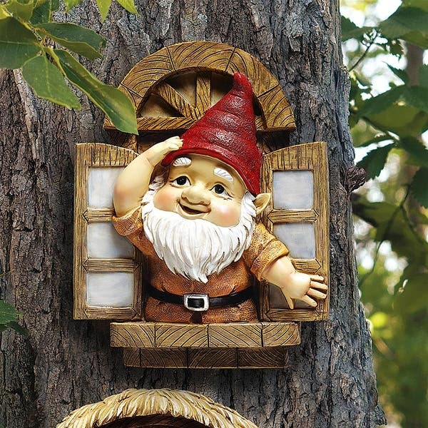 Shop Design Toscano The Knothole Gnomes Garden Welcome Tree