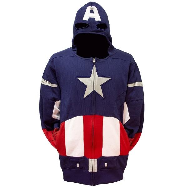 Captain America Avengers Men's Costume Hoodie