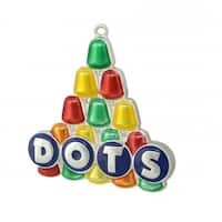 Silver Plated Dots Candy Logo Mulit- Colored Christmas Tree