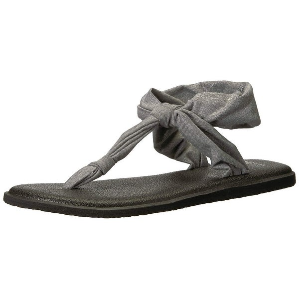 821268b1b5194 ... Women s Sandals. Sanuk Women  x27 s Yoga Sling Ella Metallic ...