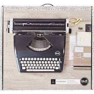 We R Typecast Typewriter-Black