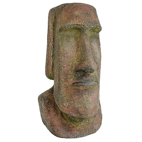 Design Toscano Easter Island Ahu Akivi Moai Monolith Statue: Medium
