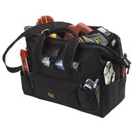 CLC 1534 Tool Bag With Top-Side Plastics Parts Tray, 23 Pockets