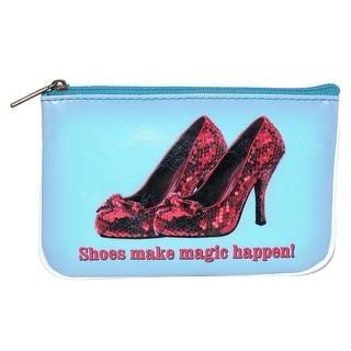 Mlavi Women's Shoes Make Magic Happen Coin Purse Wallet - Blue - One size
