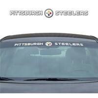 Pittsburgh Steelers Decal 35x4 Windshield