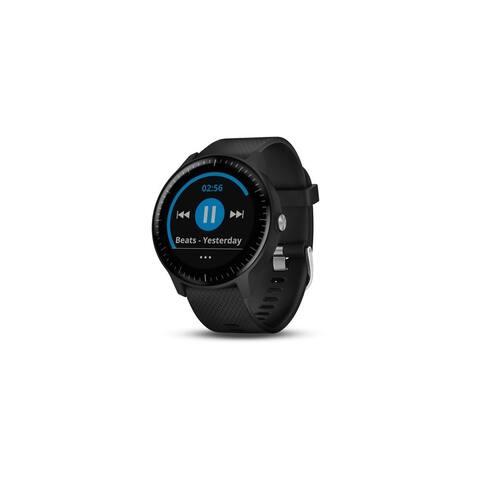 Refurbished Garmin v voactive 3 Music GPS Smartwatch with Music Storage - Black