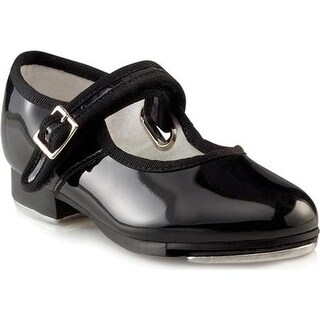 Capezio Dance Girls' Mary Jane 3800C Black Patent
