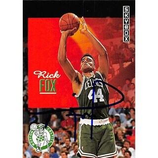 Boston Celtics Ft 1992 Skybox No. 13 Rick Fox ed Basketball Card