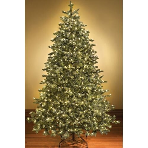 Christmas at Winterland WL-TRSQ-14-LWW 14 Foot Pre-Lit Christmas Tree With LED Lights