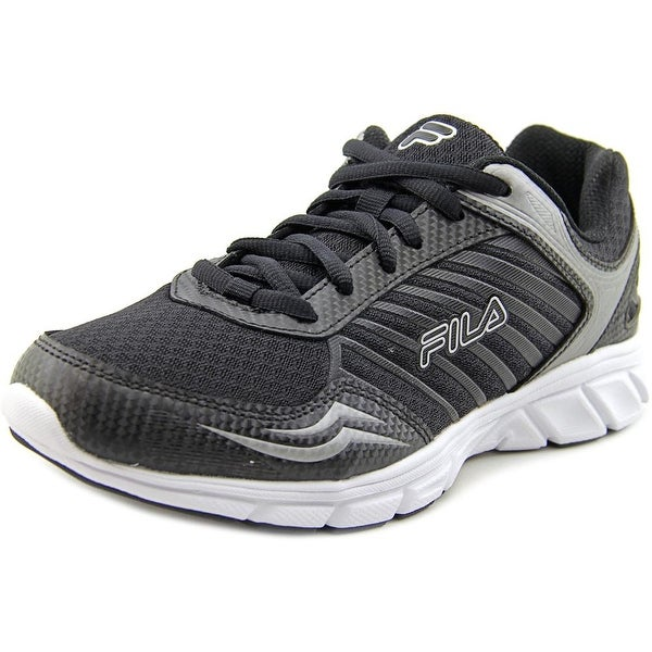 Fila Gamble Women Round Toe Synthetic Black Sneakers