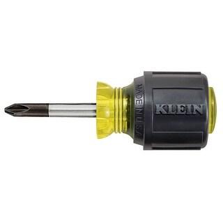 Klein Tools 603-1 Profilated Philips Tip Screwdriver, #2, 1-1/2'' Round Shank