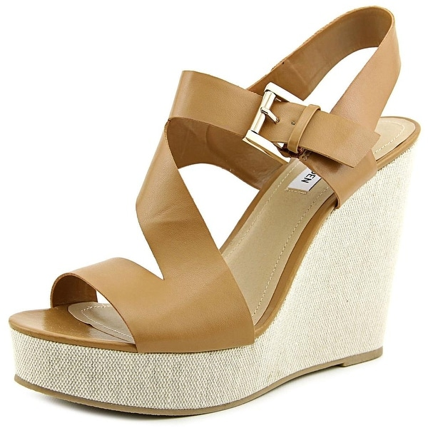 Steve Madden Evitaa Women Open Toe Synthetic Wedge Sandal