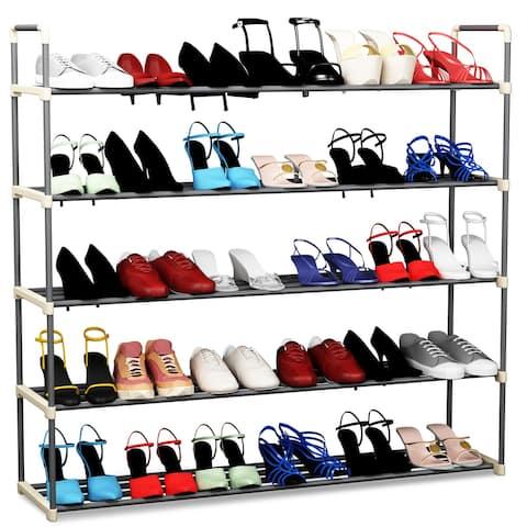 Hastings Home Multi-Tier Shoe Storage Rack