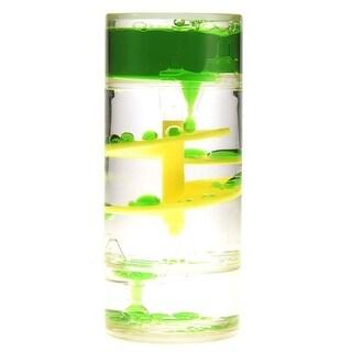 AZImport TG1B Green Liquid Motion Bubblerm, Green