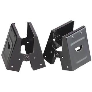 "Fulton 400SHB Sawhorse Brackets, 2"" x 4"", Steel, Black"