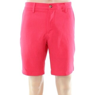 Vineyard Vines NEW Pink Coral Red Mens Size 32 Flat Front Links Shorts