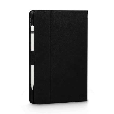 SENA Cases Vettra 360 Leather Folio Case for iPad Pro 10.5 in. (2017) and iPad Air 3 10.5 in. (2019) Black - SHD300NPUS