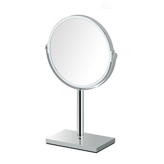 Gatco 1442 Magnifying Table Top Mirror