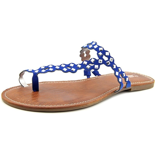 Carlos by Carlos Santana Shelby Women Open Toe Synthetic Blue Thong Sandal