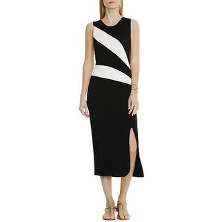 Vince Camuto Womens Tank Dress Colorblock Sleeveless