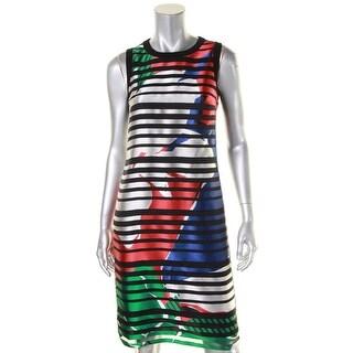 BOSS Hugo Boss Womens Danyna Wear to Work Dress Lined Silk Blend