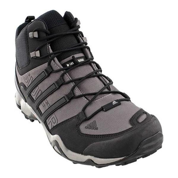 low priced 2d992 9982c adidas Men  x27 s Terrex Swift R Mid Hiking Boot Granite Black
