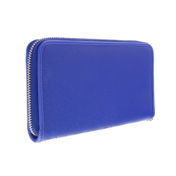 Versace EE3VOBPO2 E224 Blue Multifunction Wallet - 7.25-4-1.25