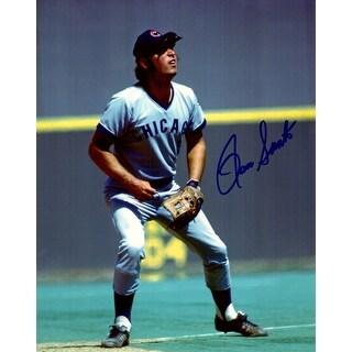 Ron Santo Chicago Cubs Fielding 8x10 Photo
