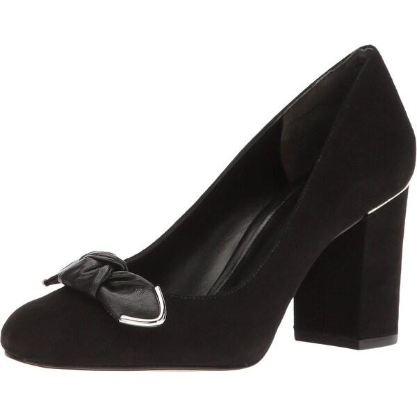 8c4f89a1e9 Michael Michael Kors Womens Liza Pump Leather Closed Toe Classic Pumps - 8.5
