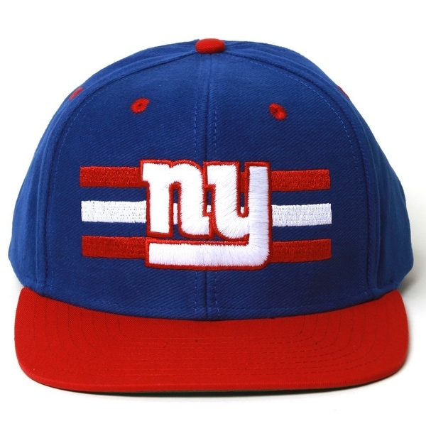 25144e70869 Shop NFL New York Giants Reebok Billboard Flat Bill Structured Snapback Hat  - Free Shipping On Orders Over  45 - Overstock - 21798358