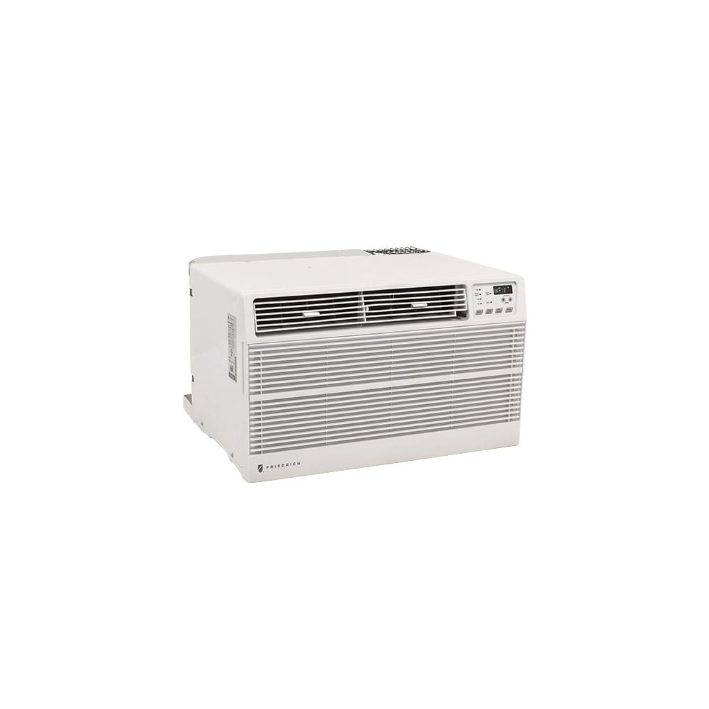 Friedrich US12D30C 11500 BTU 208/230V Through the Wall Air Conditioner with Programmable Timer and Remote Control - White - N/A