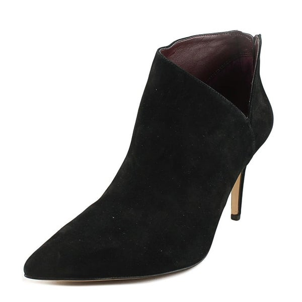 0d88d547c Shop Enzo Angiolini Ruthely Women Pointed Toe Suede Black Bootie ...