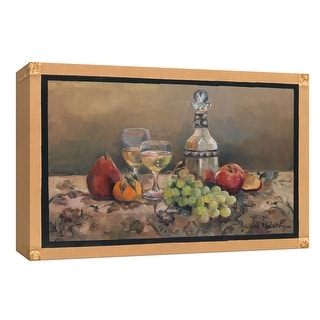 """PTM Images 9-153700  PTM Canvas Collection 8"""" x 10"""" - """"Fruit Wine"""" Giclee Fruits and Wine Art Print on Canvas"""
