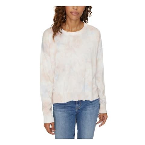 SANCTUARY Womens Blue Ombre Long Sleeve Jewel Neck Sweater Size S