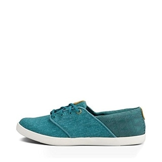 Teva Womens Willow Lace Canvas Casual Sneakers