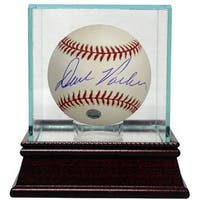 Dave Parker signed Official Major League Baseball w Glass Case MLB Hologram