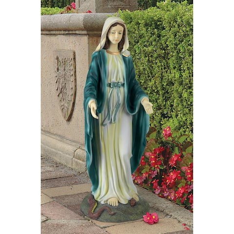 Virgin Mary Blessed Mother Statue