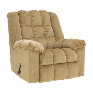 Offex Signature Design by Ashley Ludden Rocker Recliner in Sand Twill