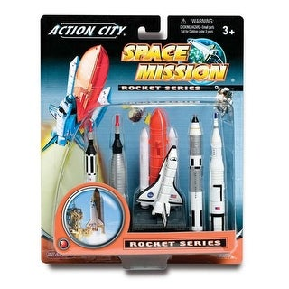 Realtoy RT9123 Space Shuttle and Rockets Gift Pack