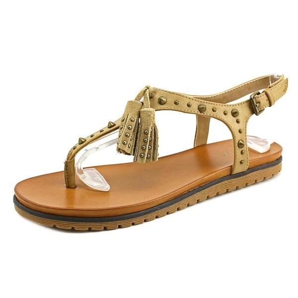 Mia Yelena Women  Open Toe Synthetic Nude Thong Sandal