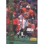 Keith Lyle Virginia Cavaliers Los Angeles Rams 1994 Signature Rookies Certified Autographed Card