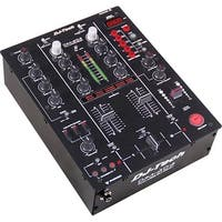 FIRST AUDIO MANUFACTURING DJM303 Twin USB DJ Mixer - Black