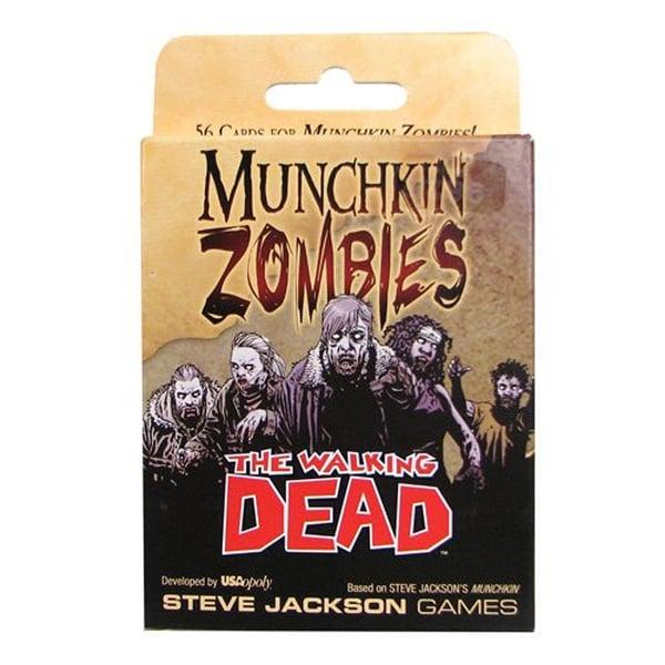 The Walking Dead Munchkin Card Game