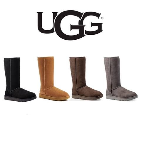 UGG Women's Classic Tall II Genuine Shearling Lined Boots